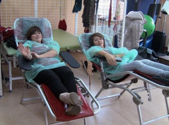 Akcja oddawania krwi pod hasłem